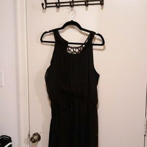 No boundaries black sleeveless dress